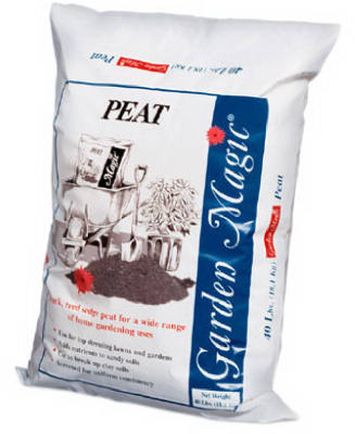 Michigan Peat 5440 Garden Magic Peat Humus, 40 lb