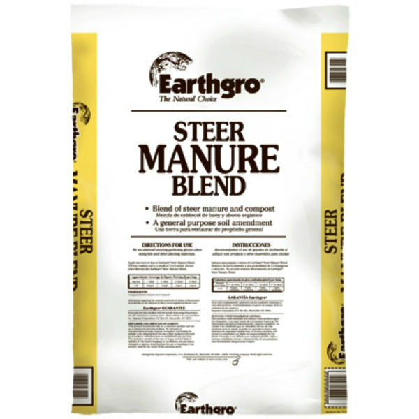 Earthgro® 71751185 Steer Manure Blend, 1 Cu Ft