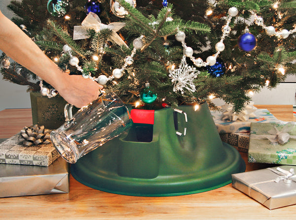 Home Logic® 208-5 E.Z. H2O Christmas Tree Stand for Up-To 10' Trees, 24""