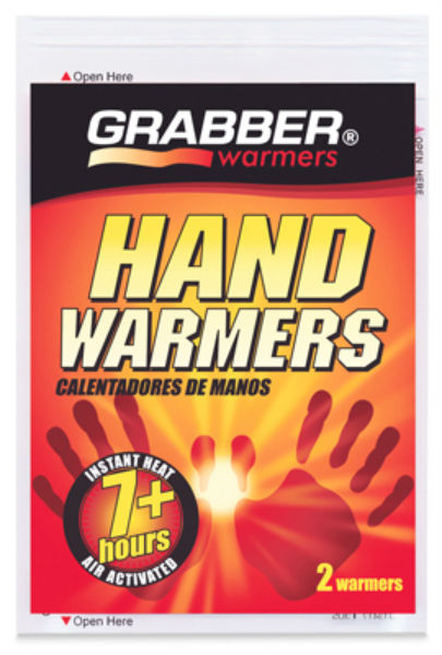 Grabber® HWES Air-Activated Hand Warmer, 7+ Hours, Pair