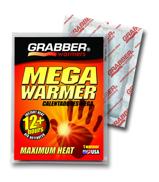 Grabber® MWES10 Maximum Heat Mega Warmer Big Pack, 12+ Hours, 10-Count