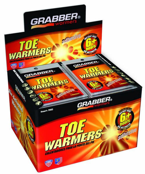 Grabber® TWES Adhesive Toe Warmers, 6+ Hours