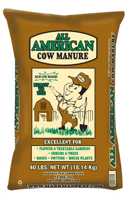 Markman Peat 310 All American Composted Cow Manure, 40 Lb