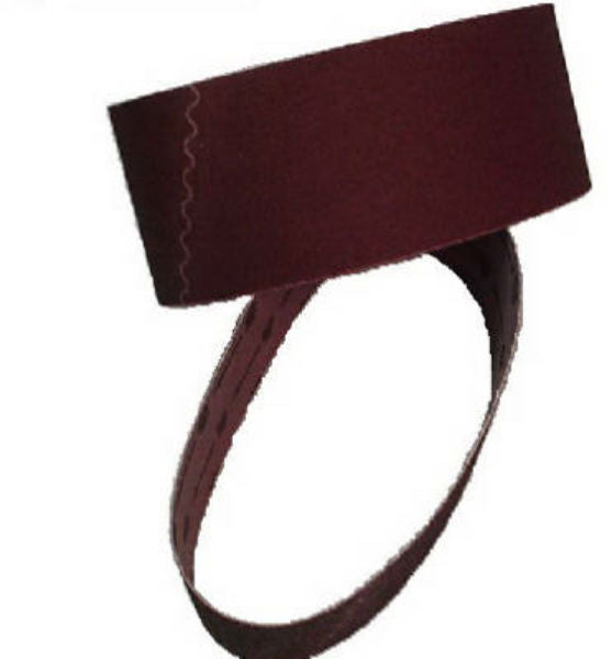 "Virginia Abrasives™ 008-32180 Sanding Belt, 3"" x 21"", 80 Grit"