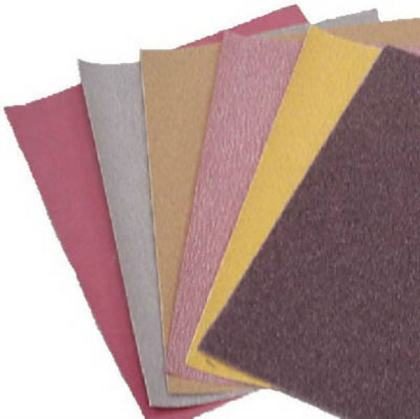 "Virginia Abrasives™ 118-23080 Aluminum Oxide Sheet, 9"" x 11"", 80D Grit"
