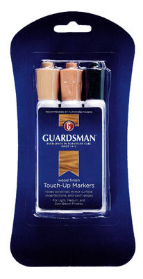 Guardsman 465000 Wood Finish Touch-Up Markers, (3 Color Set)
