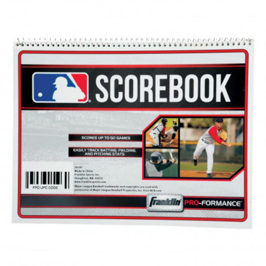 Franklin 19187 MLB® Scorebook Baseball & Softball