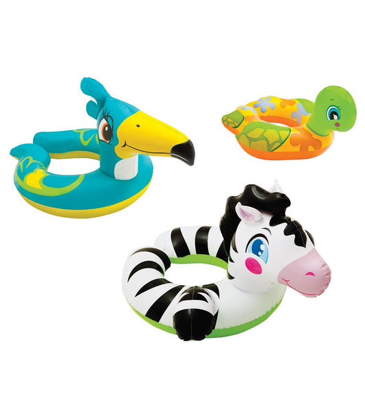 Intex® 59220EP Animal Split Swim Ring, Assorted Styles, 1 Qty