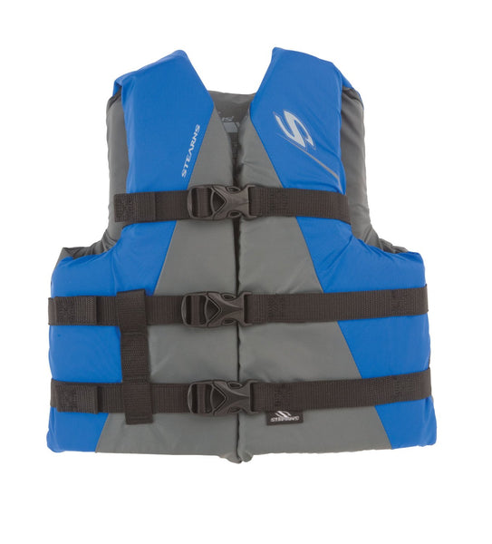 Stearns 3000001708 Youth Watersports Nylon Vest, 50-90 lbs,Blue