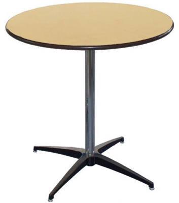 "Pre Sales 3036 Cocktail Table, 36"" Round x 42"" High"