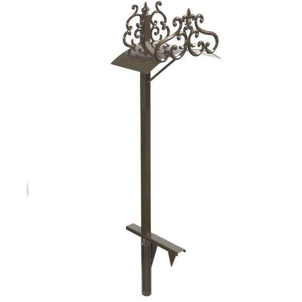 Liberty Garden™ 649 Hyde Park Decorative Hose Stand, Bronze, 125' Capacity