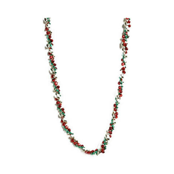 Dyno Seasonal 582378-1004CC Christmas Glamour Twist Bead Garland, Multi, 8'