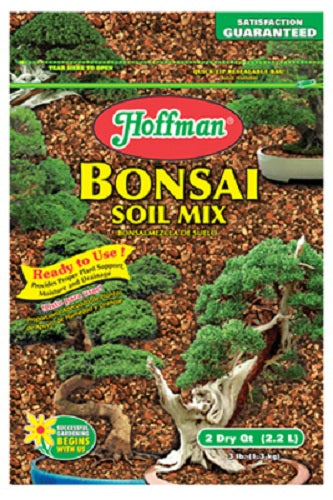 Hoffman® 10708 Bonsai Soil Mix, 2 Qt