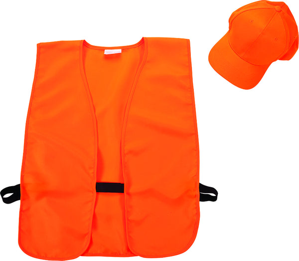 Allen™ 17555 Hat & Vest Combo for Adults, Blaze Orange