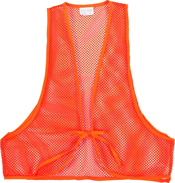 Allen™ 15750 One Size Fit Most Safety Mesh Vest, 100% Polyester, Blaze Orange