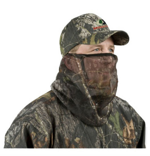 Mossy Oak® MO-34CH-BU Cover with Mesh Headnet, 3/4