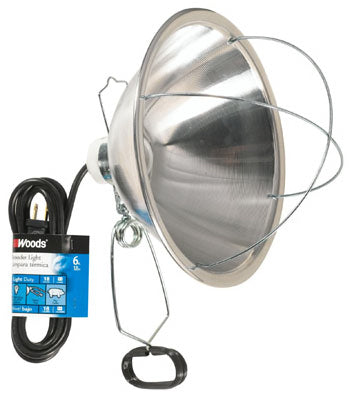 Woods® 0166 Brooder Lamp with Clamp, 250W