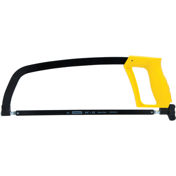 Stanley® STHT20138 Solid Frame Hacksaw, 12""