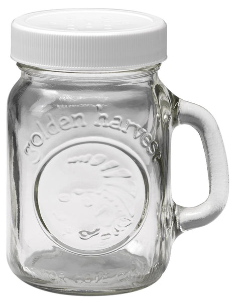 Golden Harvest 40501 Salt & Pepper Glass Shaker, 4 Oz