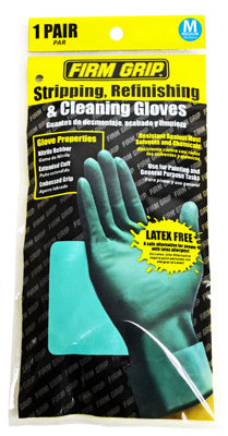 Firm Grip 13212-26 Stripping, Refinishing & Cleaning Gloves, Medium