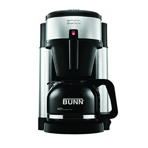Bunn® NHS Velocity Brew® Coffee Brewer, Stainless Steel Tank, 10-Cup