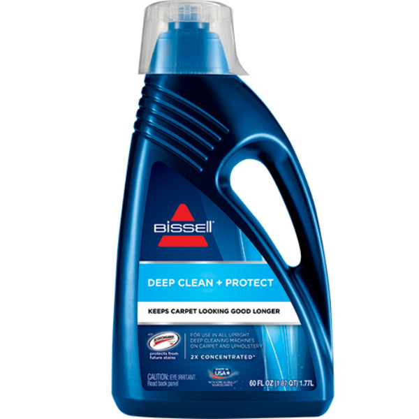 Bissell® 62E52 2X® Deep Clean & Protect Carpet Cleaning Formula, 60 Oz