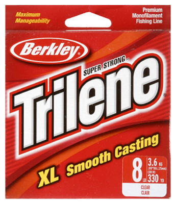 Berkley® Trilene® XL® Premium Clear Fishing Line, 8 Lbs, 330 Yard