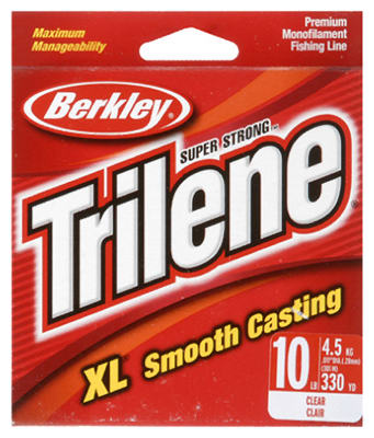 Berkley® Trilene® XL® Premium Clear Fishing Line, 10 Lbs, 330 Yard