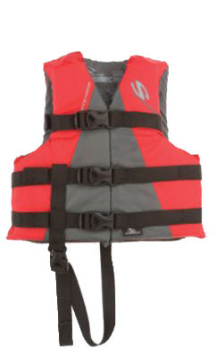 Stearns 3000001704 Child Watersport Classic Series Vest, 30-50 lbs, Red