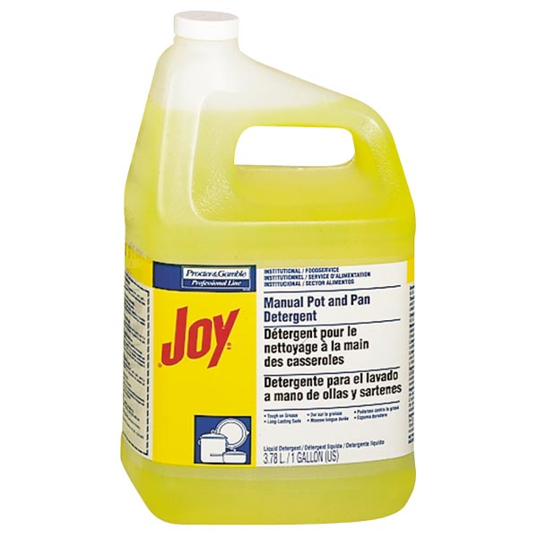 Joy® 57447 Manual Pot & Pan Liquid Detergent, Lemon Scent, 1-Gallon