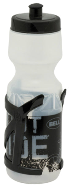 Bell 1007120 Water Bottle/Cage, 22 Oz, Wide Mouth Opening