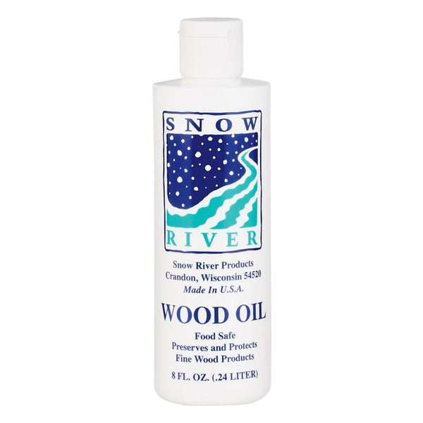 Snow River 7V03389 Wood Oil Preserves & Protects Wood, 8 Oz