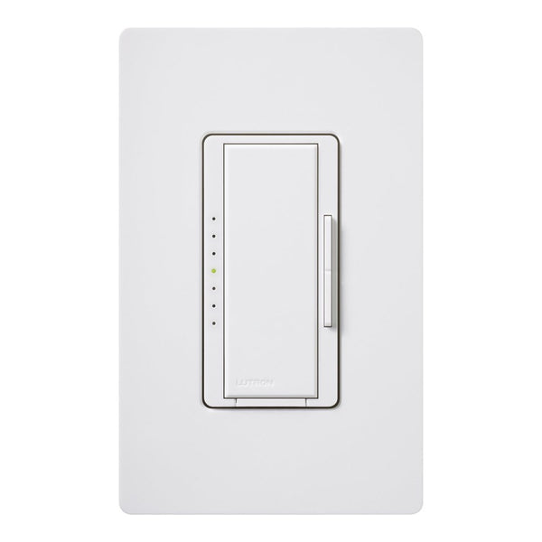 Lutron® MACL-153MH-WH Maestro® Incandescent/Halogen Single Pole Dimmer, 150W