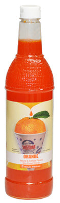 Gold Medal Products 1428 Orange Flavored Sno-Kone Syrup, 25 Oz