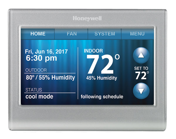 Honeywell RTH9580WF1005 Wi-Fi Smart 7-Day Programmable Touchscreen Thermostat