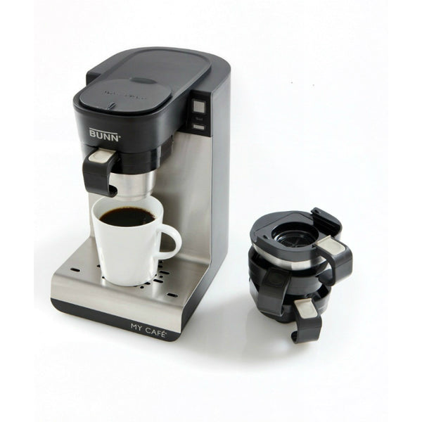 Bunn® MCU Single Cup My Cafe® Multi Use Brewer, 4-Machines-In-1