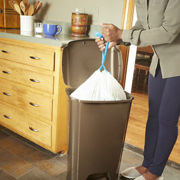 Kitchen Garbage Bags: Hefty® E84574 Strong Drawstring Tall Kitchen Trash Bags