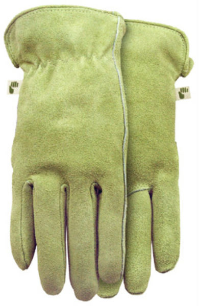 Midwest Quality Gloves 2910F6-M Ladies Genuine Suede Cowhide Gloves, Medium