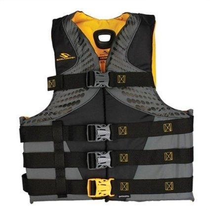 Stearns Men's Infinity Series Antimicrobial Vest, XL/XXL, Black/Yellow