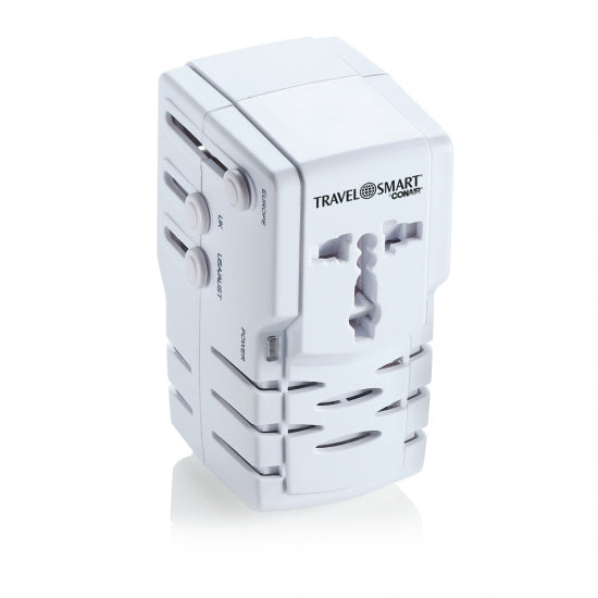 Travel Smart® TS253ADN All-In-One Adapter Combo Unit with Surge Protection