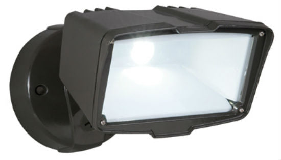 Consumer Products FSL2030L LED Flood Security Light, Large Single Bronze Head