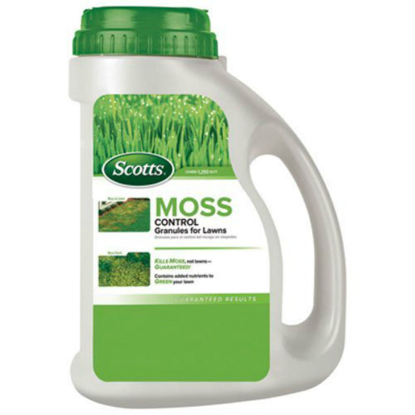 Scotts® 31010 Moss Control Granules for Lawns, 4.5 Lbs