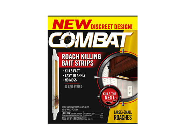 Combat 00973 Roach Killing Bait Strip, 0.68 Oz 10-Count