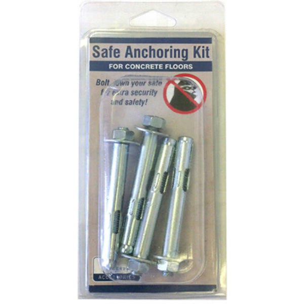 Liberty Safe 10915 Heavy Duty Concrete Gun Safe Anchoring Kit