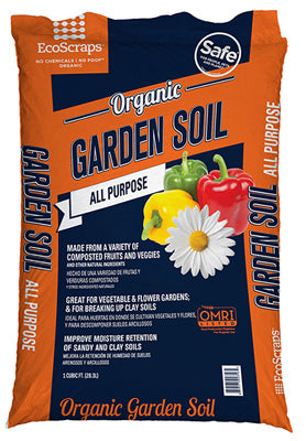 Ecoscraps SLGS15IN1001 Premium Garden Soil Mix, 1 Cu.ft.