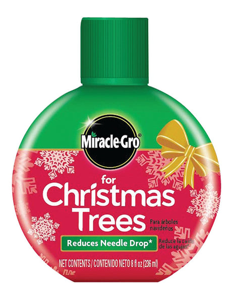 Miracle-Gro 101660 Christmas Tree Food Fertilizer, 8 Oz, Reduces Needle Drop
