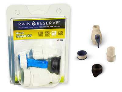 Rain Reserve 2012314 Barrel Spigot Kit