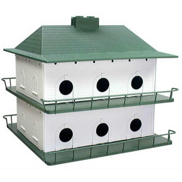 Heath™ PH-12 Durable & Light Weight Plastic Purple Martin House, 12-Room