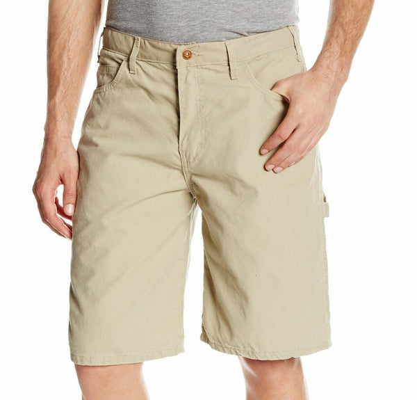 "Dickies DX250RDS42 Relaxed Fit Duck Carpenter Shorts, 42"" x 11"", Desert Sand"