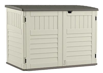 Suncast BMS4700 Blow Molded Storage/Garbage Can Shed, 70 cuft